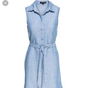 Sanctuary Everly Midi stripe linen dress
